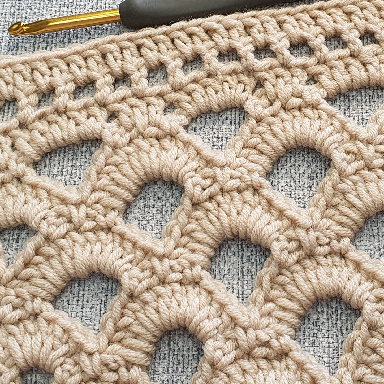 Arcade Stitch crochet pattern