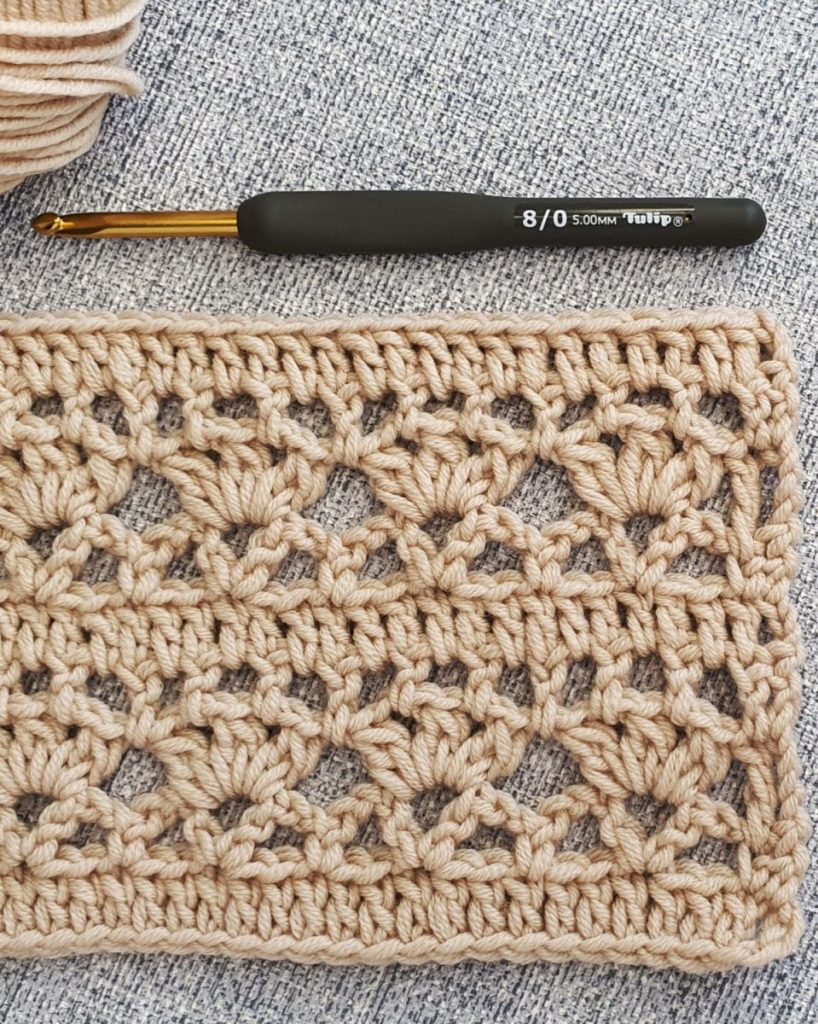 Astro Cluster Stitch Crochet Pattern