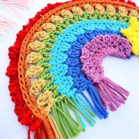 Boho Crochet Rainbow Free Pattern